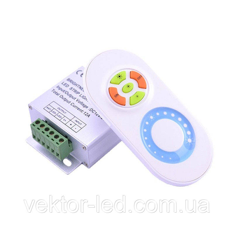 Диммер 18A RF 5 кнопок touch