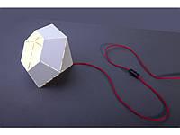 DIAMOND WHITE-RED I biurkowa