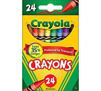 Восковые цветные карандаши 24 шт, Crayola