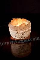 Соляная лампа Чаша (7 кг)