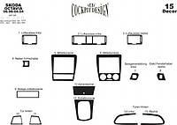 Skoda Octavia Tour A4 Накладки на панель Титан