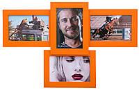 Эксклюзивная фоторамка  Авиа Оранжевая 4 фото