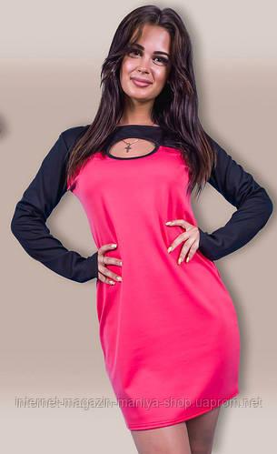 Платье женское с пуговицами