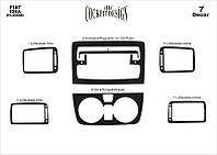 Fiat Idea 2003 + Декоративная накладка на панель Титан