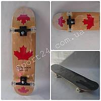 Скейтборд Canadian Maple Red (Красный клен) до 90 кг