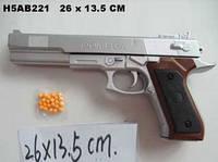 Детская игрушка пистолет с пульками, P 168