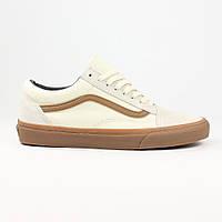 Кеды Vans Old Skool White Suede Gum, фото 1