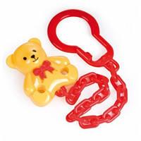 Держатель для пустышки Медвежонок желтый, Canpol babies (10/903-4)