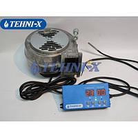 Автоматика для котлов Tehni-x КТА-150 контролер температуры автоматический микропроцессорный + Турбина DM-80
