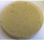 Войлочный плотный белый круг (фетр) диаметром 320 мм  (Турция) полировальный тонкошерстный шлифовальный