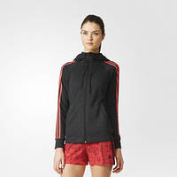 Толстовка женская adidas Essentials 3-Stripes Hoodie AY4802