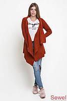Женская вязаный кардиган - накидка