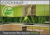 Стекло с напечатанным рисунком для кухни
