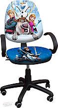 """Детское компьютерное кресло Поло Хром """"Ледяное сердце 2"""""""
