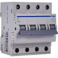 Авт. вимикач 32А 4ф.,С,6кА,4м MC432A  Hager