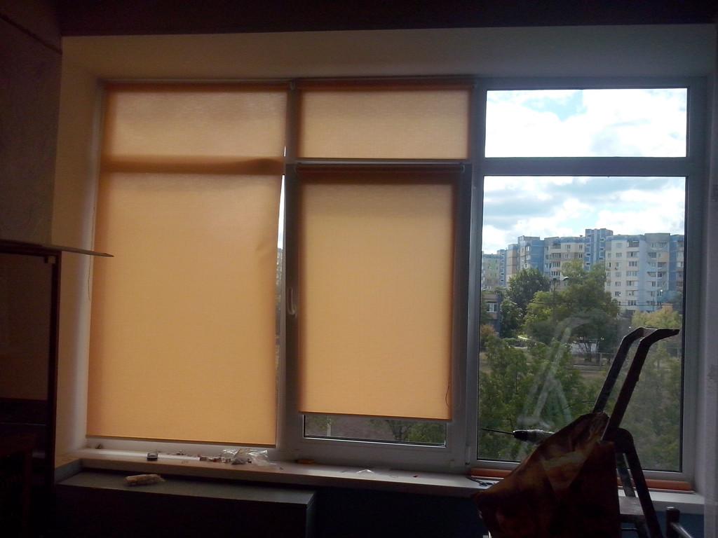 Рулонные шторы на окна Киев 1