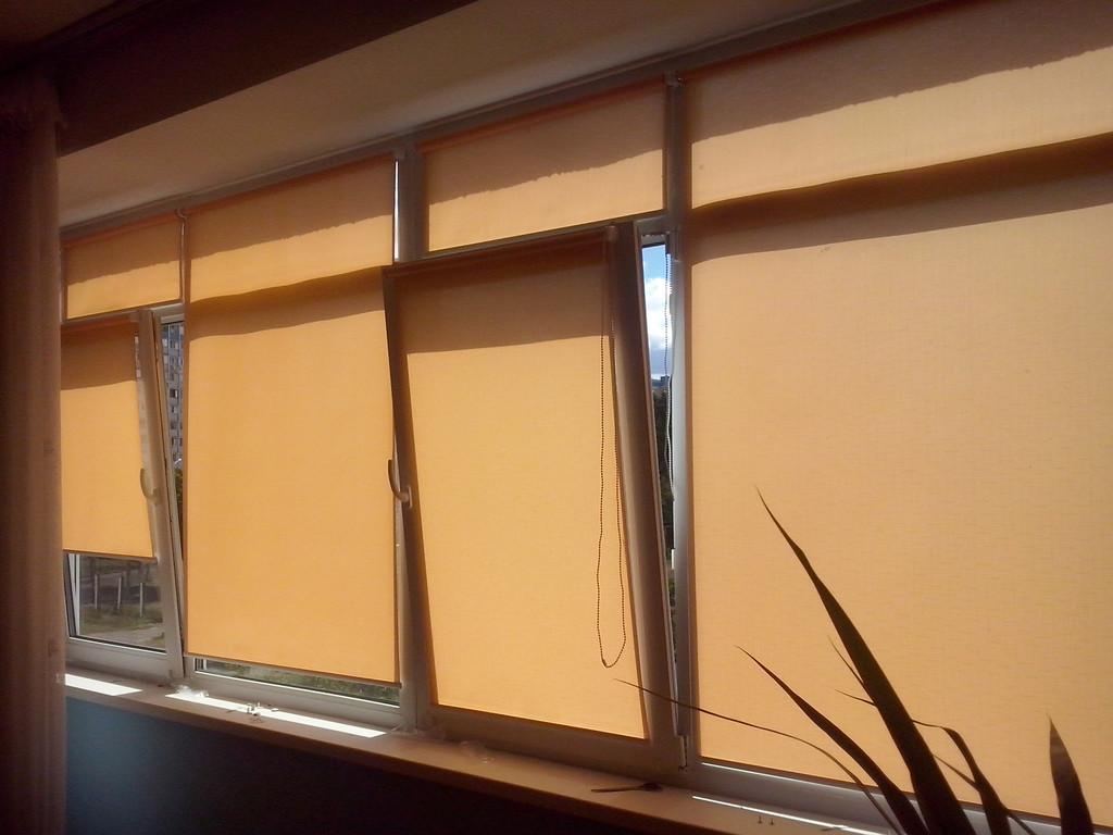 Рулонные шторы на окна Киев