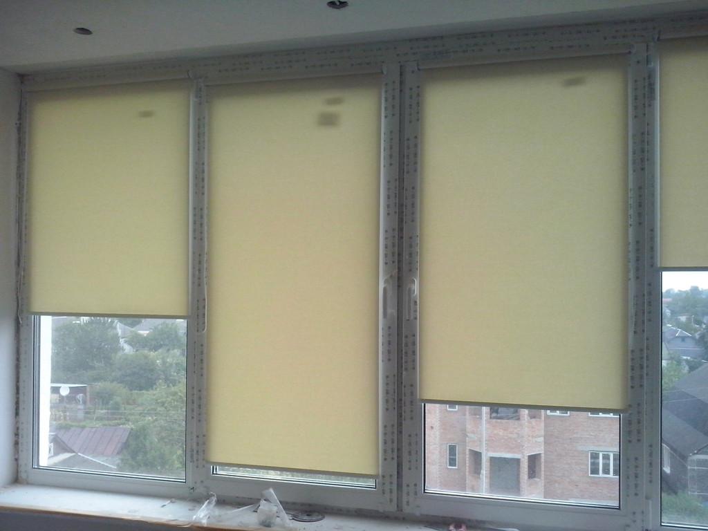 Рулонные шторы на окна Киев 5