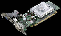 Видеокарта GeForce 9300GE DP 512MB 64-bit, PCI-E x 16 б/у