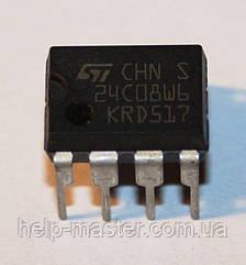 Микросхема 24C08WB(DIP-8)