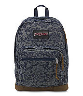 Рюкзак JanSport Right Pack Backpack  (Blue Floral Sparkle Jacquard - Expressions), фото 1