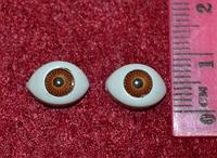 Глазки  кукольные карие 14283-1 упаковка 50 пар