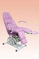 Педикюрно-косметологическое кресло КП-3 (гидравлическое)