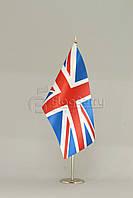 Флажок Великобритании 13,5*25 см., плотный атлас