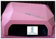 Гибридная уф лампа  CCFL+LED 36вт розовый