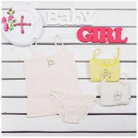 Комплект детского белья для девочек ТМ Фламинго (майка+трусики) артикул 209-416