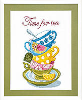 Набор для вышивки крестом Time for tea