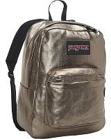 JanSport Super FX Series Backpack Pewter Metallic Coat, фото 1
