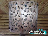 Подвесной светильник из шпона, фото 1