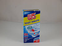 W5 WC-Tabs 5x Power Ocean Breeze Таблетки для чистки туалета поштучно