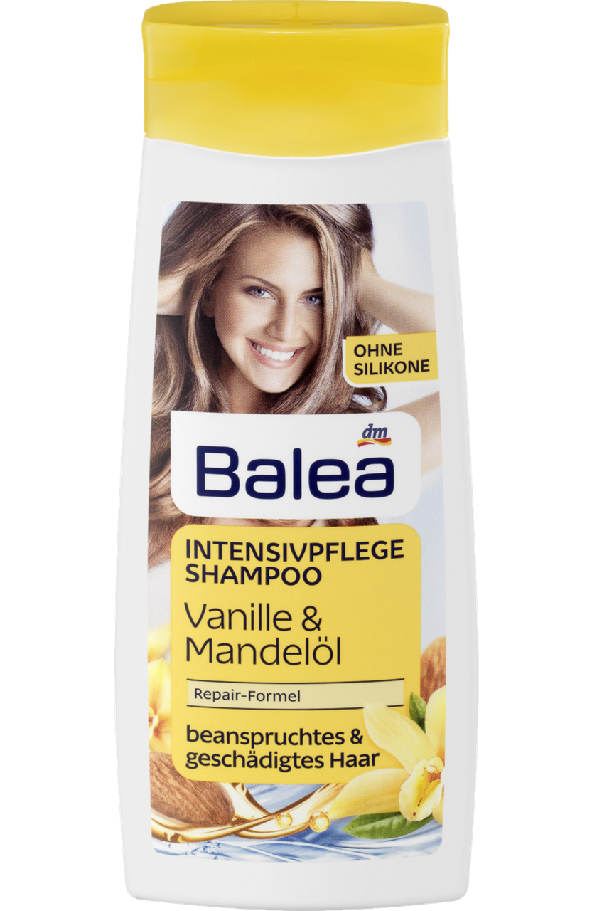 Balea шампунь интенсивный уход Intensivpflege Shampoo Vanile Mandelol 300 мл продажа цена в львове