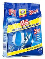 W5 Geschirr Reiniger Pulver порошок для посудомоечной машины 1.26 кг