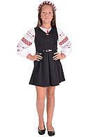 Платье сарафан для девочки  Школьная форма