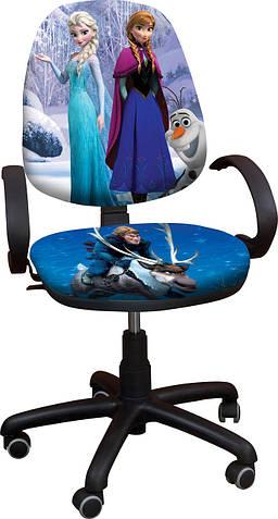 """Детское компьютерное кресло Поло """"Ледяное сердце 1"""""""