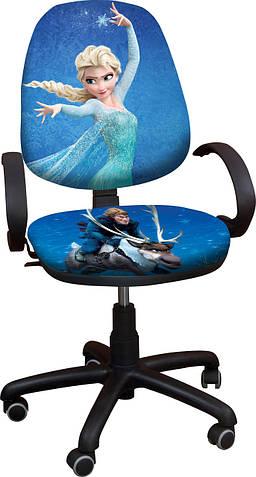 """Детское компьютерное кресло Поло Хром """"Ледяное сердце 4"""""""