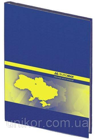 Книга учета 192 листа, твердая обложка, ламинированная, офсет, клетка. BuroMax