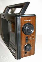 Радиоприемник Golon RX-9966UAR Чувствительный диапазон FM/TV/MW/SW+USB+Встроенный аккумулятор Питание AC/DC , фото 3