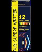 Карандаши цветные Marco 12цв 4100-12CB superb writer
