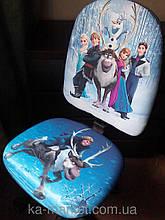 """Детское компьютерное кресло Поло Хром """"Ледяное сердце 5"""""""