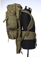 Комбинированный рюкзак (система Molle) с отделением для винтовки, 30х95, BS911 черный