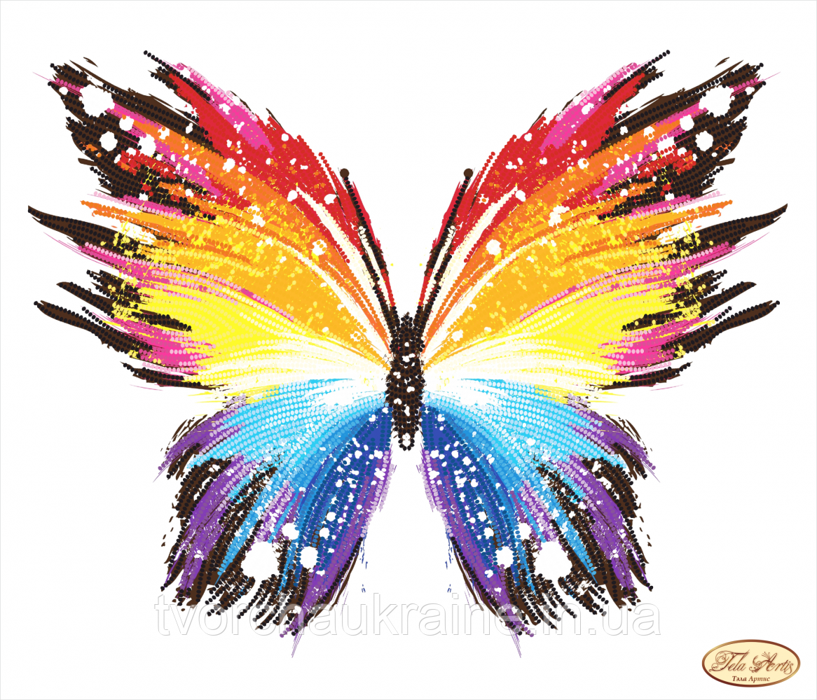 ТК-061 Бабочка. Схема для вышивки бисером