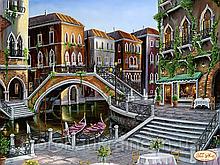 """Схема для вишивки бісером """"Венеціанськими вуличками"""""""