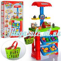 Игровой набор Супермаркет 661-79 (магазин): весы + касса + корзина