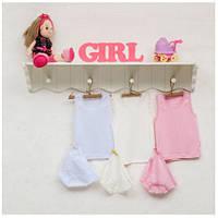 Комплект детского белья для девочек ТМ Фламинго (майка+трусики) артикул 219-1006