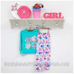 Пижама детская для девочек ТМ Фламинго, ластик (артикул 255-1005)