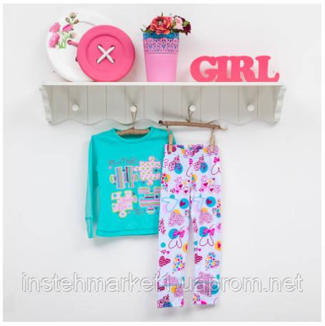 Пижама детская для девочек ТМ Фламинго deee99f814bc2